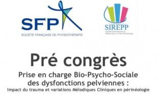 PRE CONGRES SIREPP et SFP.