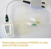 Mano 2 voies avec POD PHENIX Liberty ou PHENIX USB Néo